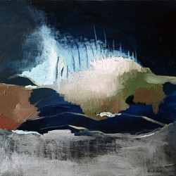 Haaksirikko / Oil on canvas / 65 cm x 54 cm / 2008 / Private collection