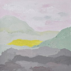Sumun jälkeen / Acrylic on canvas / 38 cm x 40 cm / 2012 / Private collection