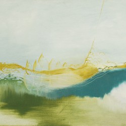 Faasi, Oil on canvas, 116 cm x 92 cm, 2009. SOLD