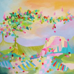Party, 150 cm x 150 cm,  Acrylic on canvas, 2012,  SOLD