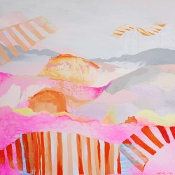 Flying carpets, 150 cm x 150 cm, Acrylic on canvas, 2012. SOLD