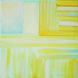 """From the series """" On the right way """", 32 cm x 32 cm,  Acrylic on canvas, 2012. SOLD"""